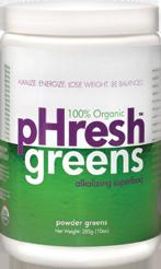 pHresh Green Drink - Alkaline Food organic shake